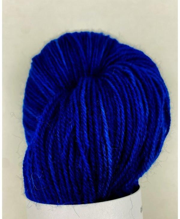 Red Island Fibre Sock/Fingering - Island Blueberries
