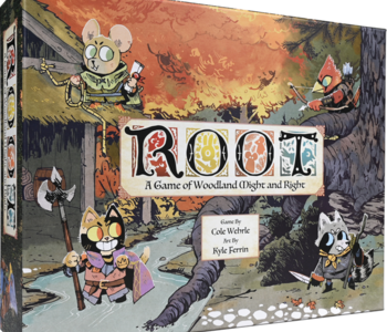 ROOT: A game of woodland might and right.