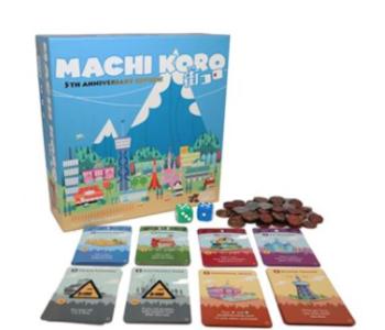 Machi Koro 5th Anniversary Ed
