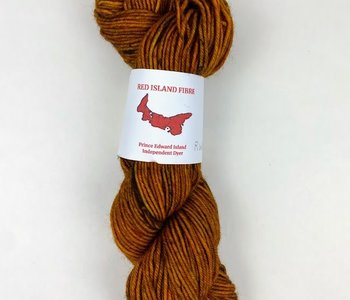 Red Island Fibre Worsted - Roasted Chestnut