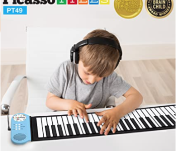 Picasso Tiles 49 Key Roll Up Piano