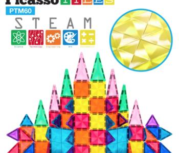 Picasso Tiles Mini Diamond Series 60pc