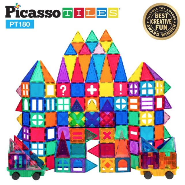 Picasso Tiles 180pc Deluxe Set