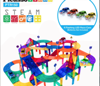 Picasso Tiles Racing Track Set 150pc