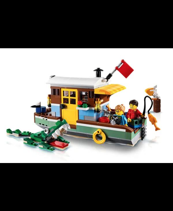 LEGO® Riverside Houseboat
