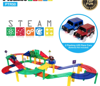 Picasso Tiles Racing Track Set 50pc