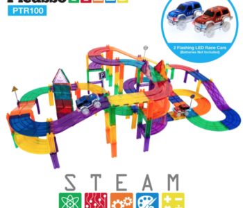 Picasso Tiles Racing Track Set 100pc