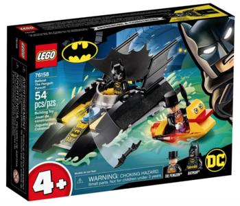 BatBoat The Penquin Pursuit!
