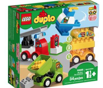 LEGO® My First Car Creations