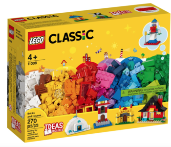 LEGO® Classic Bricks and Houses 270pc