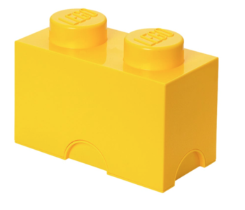 Storage Brick 2 Yellow