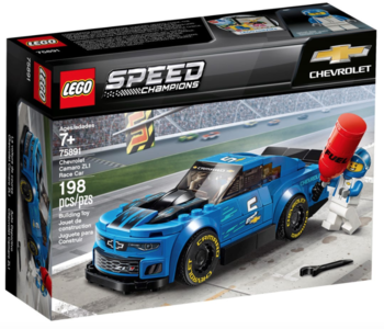LEGO® Chevrolet Camaro ZL1 Race car