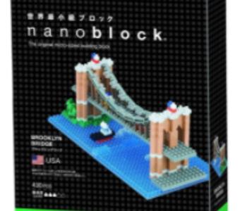 Nanoblock-Brooklyn Bridge
