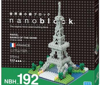 Nanoblocks-Paris Banks of the Seine