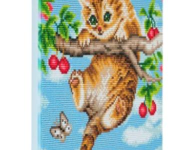 Crystal Art - Cherry Kitten
