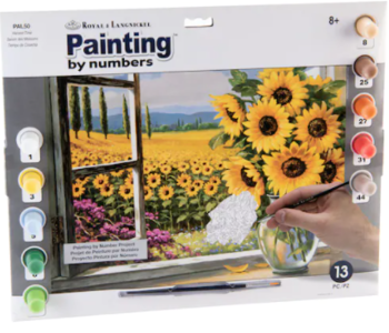 Paint By Number Harvest Time