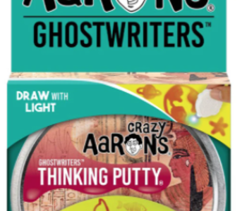 Crazy Aaron's Thinking Putty Ghost Writers Secret Scroll