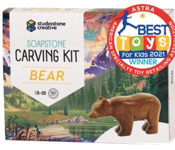 Soapstone Carving kit (BEAR)