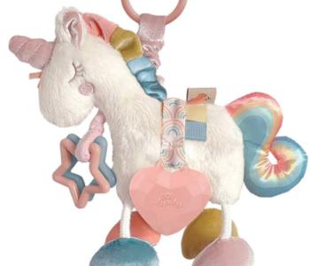 Link & Love Unicorn Activity Plush