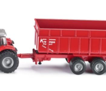 Siku Massey Ferguson Tractor with Trailer
