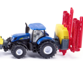 Siku New Holland Tractor w Crop Sprayer