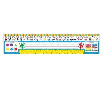 Reference Name Plates: Gr Pre-K to 1 (zaner-bloser) 36pc
