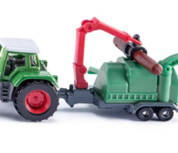 Siku Tractor with Wood Chippers
