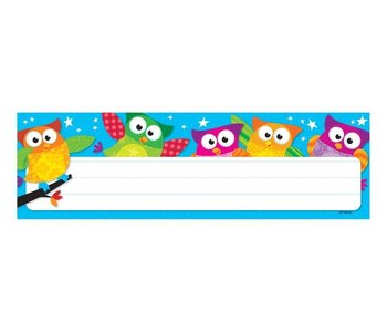 Owl Stars Name Plates 36 Desk Toppers