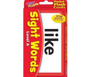 Pocket Flashcards: Sight Words Level A