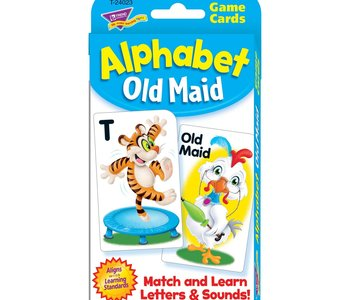 Alphabet Old Maid Learning Cards