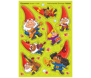 Gnomes Cinnamon Scratch 'n Sniff Stickers