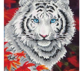 DIAMOND DOTZ White Tiger in Autumn