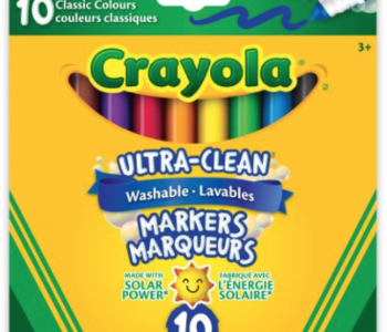 Crayola Ultra-Clean Washable Markers Classic