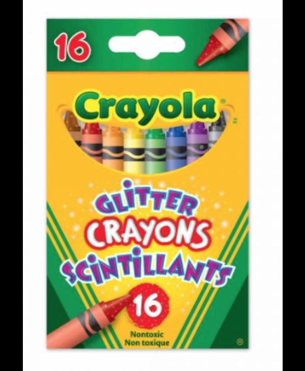 Glitter Crayons 16pc