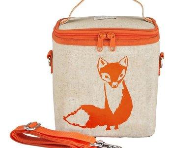 Orange Fox Large Cooler Bag