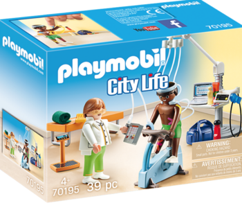 Playmobil- City Life-Physical Therapist