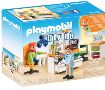 Playmobil  -City Life   -Eye Doctor