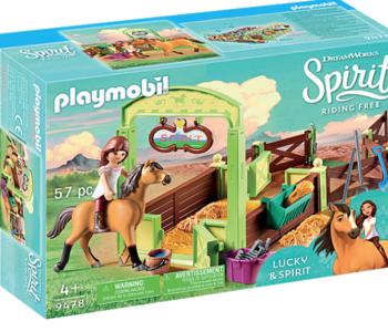 Playmobil Spirit: Horse Box Lucky & Spirit