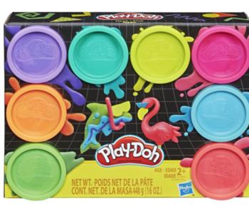 Play-Doh 8 PK Asst-Neon