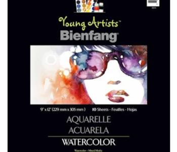 Bienfang Watercolour Pad 9x12