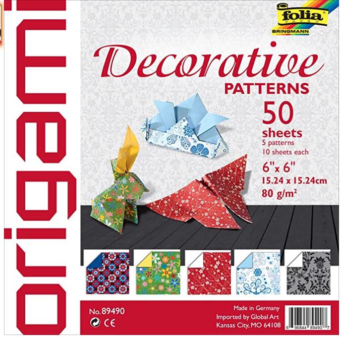 Origami Decorative Patterns 50sh