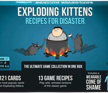 EXPLODING KITTENS- RECIPES FOR DISASTER