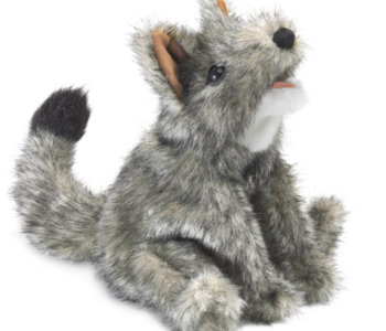 Small Coyote Puppet