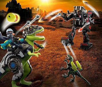 T-Rex Battle of  the  Giants