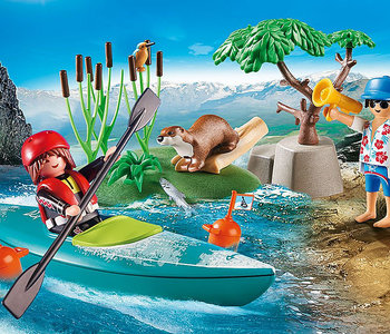 Playmobil-Starter Pack-Kayak Adventure