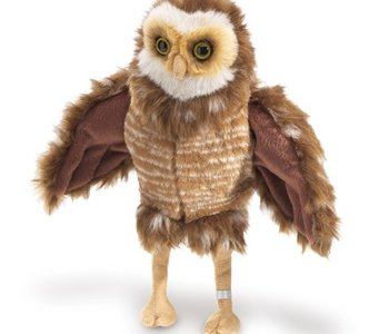 Burrowing Owl Puppet