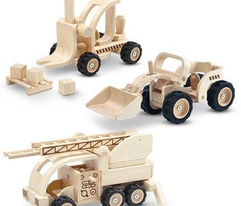 Plan Toys Wooden Vehicle Set of 3