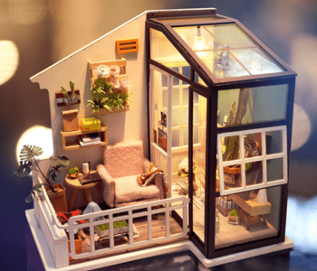 DIY House - Balcony Daydreaming