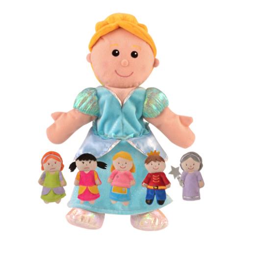 Cinderella Puppet Set
