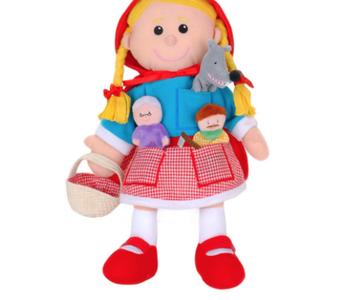 Red Riding Hood Puppet Set